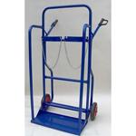 Καρότσι Μεταφοράς Φιαλών οξυγόνου & αερίων Διπλό