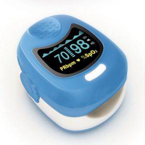 Παιδικό οξύμετρο δακτύλου CMS50QB Μπλε