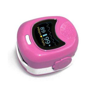 Παιδικό οξύμετρο δακτύλου CMS50QB Ροζ