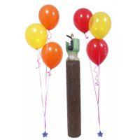 Φιάλη Ήλιον Balloon Gas 10 κυβικών για μπαλόνια