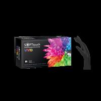 Γάντια Νιτριλίου χωρίς πούδρα Soft Touch Vivid Μαύρα